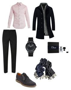 """💜"" by vera-santos-2 on Polyvore featuring Topman, G.H. Bass & Co., Giorgio Armani, Movado, Black, Christian Dior, men's fashion e menswear"