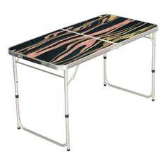 Classy abstract marbleized paint image beer pong table - rose style gifts diy customize special roses flowers