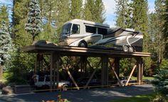Uma garagem luxuosa de 6 milhões de dólares