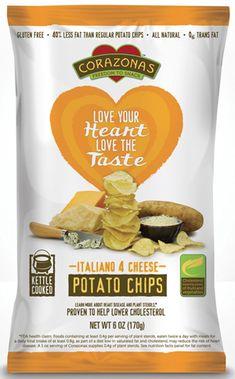 Love your Heart Love the Taste  Italiano 4 Chesse