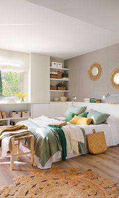 Un dormitorio per-fec-to Bedroom Green, Bedroom Colors, Bedroom Sets, Home Decor Bedroom, Parents Room, Paint Colors For Living Room, Home Staging, Home Interior Design, Furniture