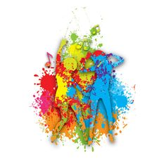 """""""#Colorful #Dance"""", #colorful #vector #design by DryIcons.com."""