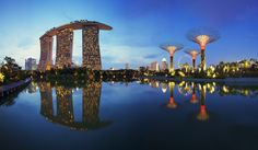 Reflections By The Bay - Singapore by Maxwell Campbell, via 500px