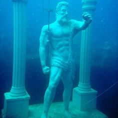 Turkey's first fully underwater museum has opened. The Side Underwater Museum, Europe's first fully submerged hall of sculptures, which opened yesterday in Turkey. Located just outside Manavgat in Side, a Mediterranean seaside town, the museum is dedicated to telling the story of Turkish history and culture. Certified divers will be able to explore 110 pieces of statuary—weighing up to five tons—all designed to be environmentally friendly and to foster coral life.