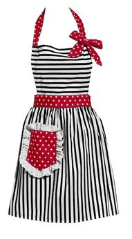 Dorothy Red retro apron ... for Valentine's