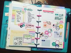 Diane Gulling (@texasgal1958) • Instagram photos and videos Planner Layout, Budget Planner, Life Planner, Planner Ideas, Best Planners, Day Planners, Planner Dashboard, Bullet Journal Printables, Mini Happy Planner