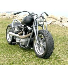 2009 Harley Street Bob Hot Rod Bobber (Converted Harley Dyna FXR)