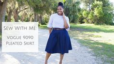 Sew With Me: Vogue 9090 Pleated Skirt  http://www.brittanyjjones.com/home/sew-with-me-vogue-9090