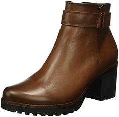 c0581174733851 Gabor Shoes 53.760 Damen Halbschaft Stiefel Braun (caramello (Effekt) 22) 40  EU
