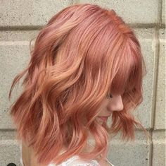 """""""Blorange"""" Is The Latest Hair Color Trend To Sweep Instagram — & It's Even Better Than Rosé #refinery29  http://www.refinery29.com/2017/01/136926/blorange-hair-color-trend#slide-7  Those with naturally-light hair can achieve the hue without bleaching their strands first. However, if you're a brunette, you will have to bring your base color lighter to see similar results. ..."""