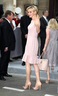 Charlene Wittstock Photos - Attendees of the Christian Dior Fall-Winter Couture fashion show during Paris Fashion Week. - Arrivals for Dior Couture Fürstin Charlene, Princesa Charlene, Royal Fashion, Fashion 2017, Fashion Show, Paris Fashion, Grace Kelly, Kelly Monaco, Dior Couture