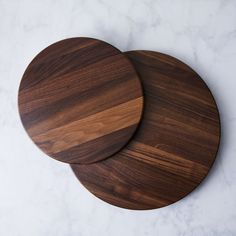 Walnut Lazy Susan on
