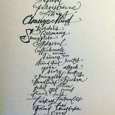 #practice #lettering #handlettering #calligraphy #practicedaily