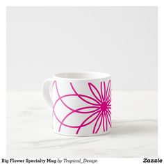 Extra Large Coffee Mugs, Key Tattoos, Glass Water Bottle, Tropical Design, Big Flowers, Present Gift, Drinkware, Small Gifts, As You Like
