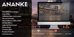 Ananke - One Page Parallax WordPress Theme by OceanThemes Ananke ¨C One Page Parallax WordPress Theme ¨C Current version 3.5.6 available for download!Ananke is a Modern and Creative premium