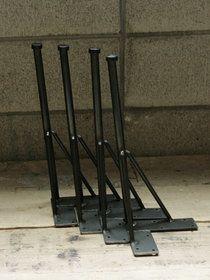 【楽天市場】≪鉄脚≫【Flat iron leg/Long double+USED足場板セット】:SQUARE PLUS