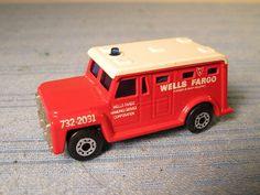 1978 MATCHBOX SUPERFAST NO. 69 WELLS FARGO ARMORED