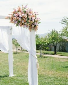 The Ceremony Setting - Vanessa And Joe's Foodie Wedding In Napa, California
