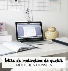 LETTRE DE MOTIVATION DE QUALITÉ : MÉTHODE & CONSEILS ! – Good Vibes Only Job Cv, Cover Letter Tips, Looking For A Job, New Job, Study, How To Plan, Business, Inspiration, Planning