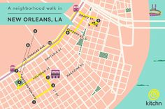 A Neighborhood Walk in New Orleans: The Garden District — Bite-Sized Guide: New Orleans