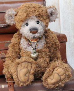 Charlie Bear Parkin Teddy Bear Cottage - Collectable Charlie Bears
