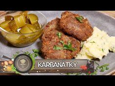 KARBANÁTKY! TO NEJLEPŠÍ Z MLETÉHO MASA! PRAVĚKÁ HITPARÁDA ČESKÉ KUCHYNĚ! VYNIKAJÍCÍ TIP NA OBĚD! - YouTube Czech Recipes, Ethnic Recipes, Meatloaf, Youtube, Kitchens, Meat Loaf