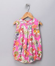 Take a look at this Pink Sugar Skull Bubble Bodysuit - Infant by Mixed Up Clothing on #zulily today!