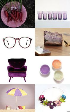 Purple finds by Vix on Etsy--Pinned with TreasuryPin.com