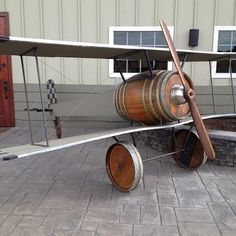 Wine Barrel Plane