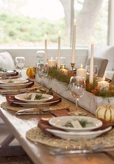Thanksgiving table setting - Jenna Sue Design