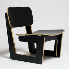 ARRé Design Capital Chair Black, $499, now featured on Fab.