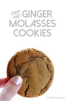 These Chewy Ginger Molasses Cookies are the BEST! They're perfectly soft and chewy, easy to make, and completely irresistible Oreo Dessert, Cookie Desserts, Just Desserts, Cookie Recipes, Dessert Recipes, Yummy Treats, Sweet Treats, Yummy Food, Healthy Food
