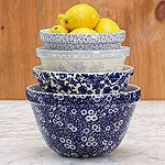 Stonewall Kitchen - Specialty Foods, Gifts, Gift Baskets, Kitchenware and… Blue And White China, Blue China, Blue Yellow, Cobalt Blue, Bright Yellow, Blue Dishes, White Dishes, Delft, Stonewall Kitchen