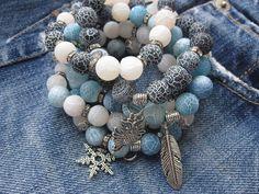 Design your own photo charms compatible with your pandora bracelets. Bohemian Bracelets, Gemstone Bracelets, Handmade Bracelets, Gemstone Jewelry, Beaded Jewelry, Jewelry Bracelets, Jewelery, Pandora Bracelets, Necklaces