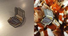 Un pin's kebab halal s'il vous plait Plait, Waffles, Breakfast, Top, I Want You, Humor, Morning Coffee, Waffle, Crop Shirt