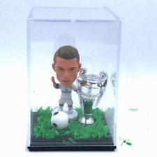 Champions League Soccer Figure Ronaldo Doll +Trophy + Display box Set Collecting