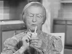 This funny Beverly Hillbillies commercial shows Granny and Jethro selling Winston Cigarettes. Granny smokes one through her corncob pipe. Beverly Hillbillies Cast, Irene Ryan, 1960s Tv Shows, Winston Cigarettes, Old Commercials, Commercial Advertisement, Vintage Videos, Great Ads, Tv Land