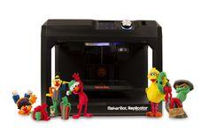 MakerBot Now Lets You 3D Print Bert and Ernie, Elmo, Big Bird & More http://3dprint.com/30445/sesame-street-classics/