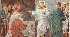 Pintura em Igreja mostra Hitler ao lado de Jesus