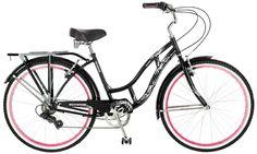 Schwinn Riverside 26 Inch Women's Bike, Black