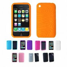 ORANGE Apple iPhone 3G 3Gs 8GB 16GB 32GB Textured Silicone Skin Case Cover --- http://www.amazon.com/ORANGE-Apple-iPhone-Textured-Silicone/dp/B00404A3EA/?tag=M_ErnestBrow_1171204