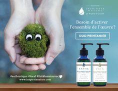 Duo Printemps Inspirata Nature  Ayureda + Plantes du Québec, Inspirata Nature
