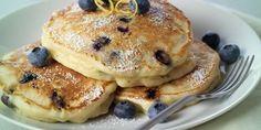 Kalorienarme Pancakes mit Heidelbeeren Einfach, gesund & schnell