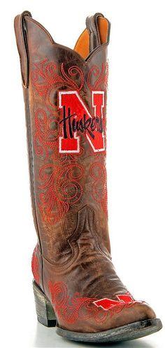 Womens Gameday Boots Nebraska Corn Huskers.  If only in my price range