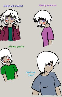Analice's Different Facial Expressions digital by Amanda1756.deviantart.com on @DeviantArt