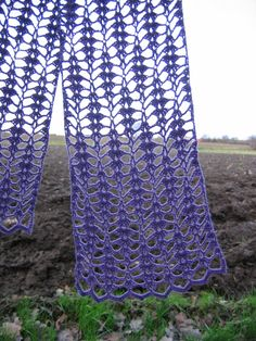 Another free crochet stitch/scarf pattern