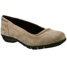 Skechers Women's Relaxed Fit: Career - Girl Friday ballet flats, for strolling around town to/from yoga