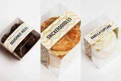 Discover more of the best Bakery, Packaging, Provo, Behance, and Network inspiration on Designspiration Bakery Branding, Bakery Packaging, Cookie Packaging, Packaging Ideas, Plastic Packaging, Design Packaging, Product Packaging, Bread Packaging, Dessert Packaging