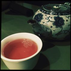 Russian Earl Grey tea From Ipanema Restaurant in the RVA