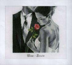 Rose of Love - Cross Stitch Kit
